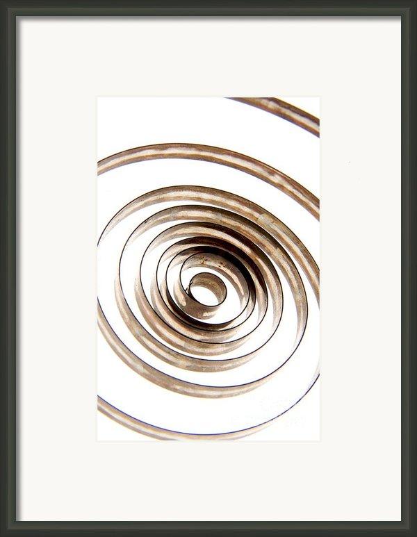 Spiral Framed Print By Bernard Jaubert