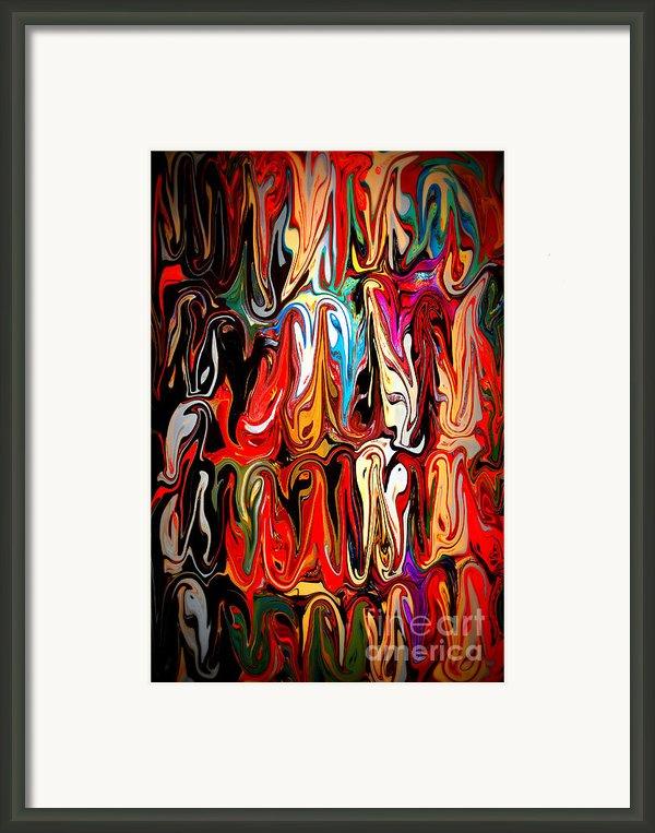 Spirit Of Mardi Gras Framed Print By Carol Groenen