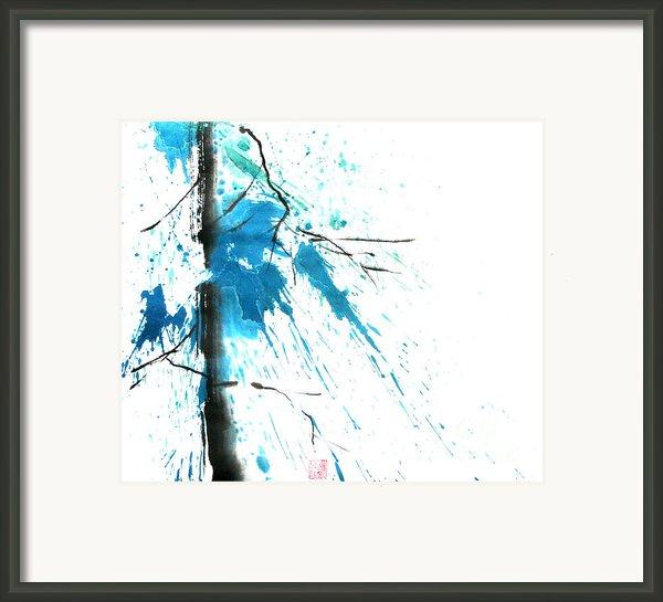 Spirit Of Pine I Framed Print By Mui-joo Wee