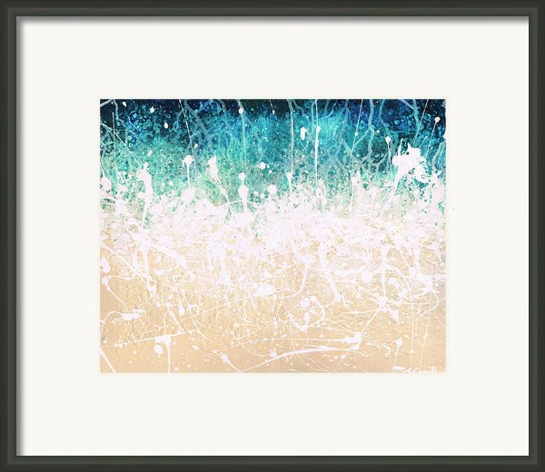 Splash Framed Print By Jaison Cianelli