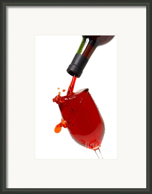 Splash Framed Print By Olivier Le Queinec