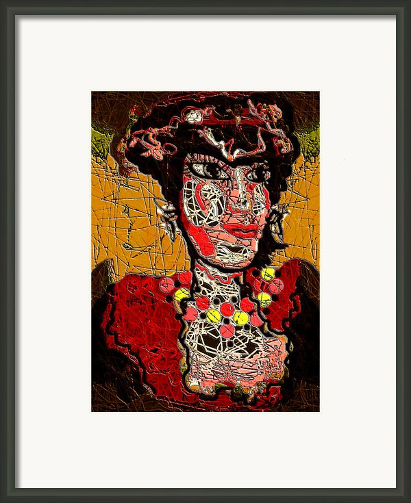 Splashy Lady Framed Print By Natalie Holland