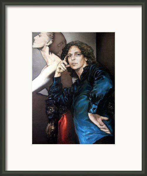S.portrait Framed Print By Valeriy Mavlo