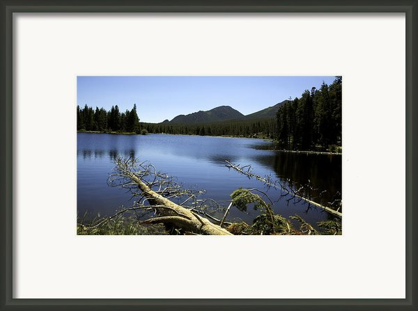 Sprague Lake Rocky Mountain National Park Framed Print By Gary Batha