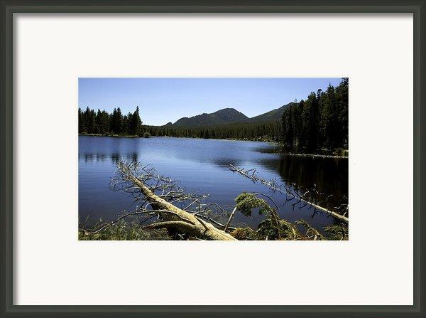 Sprague Lake Rocky Mountain National Park Framed Print By Gary Batha