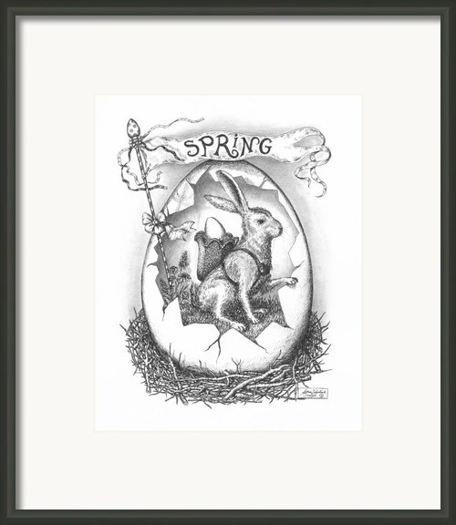 Spring Arrives Framed Print By Adam Zebediah Joseph
