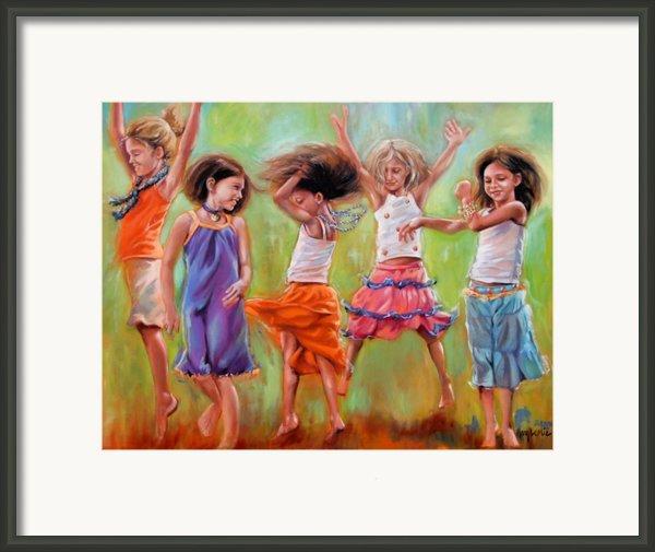 Spring Fever Framed Print By Mary Leslie