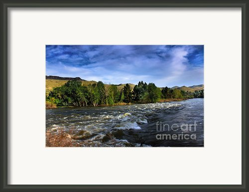 Spring Flow Framed Print By Robert Bales