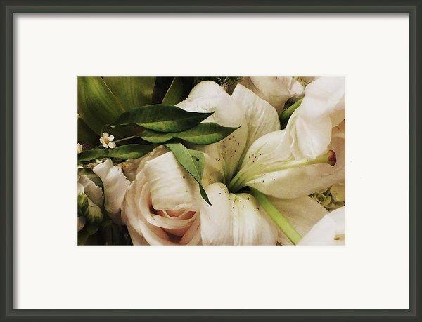 Spring Flowers Framed Print By Anna Villarreal Garbis