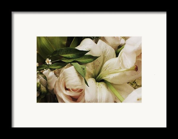 Spring Flowers Framed Print By Anna Villarreal Garbis