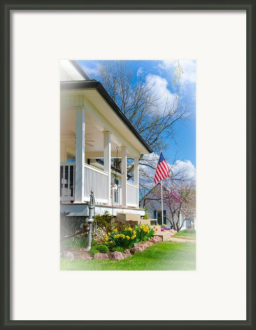 Spring In America Framed Print By Christine Belt