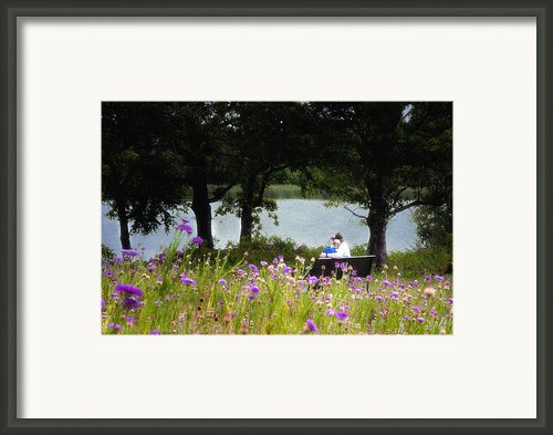 Spring Love Framed Print By Tamyra Ayles