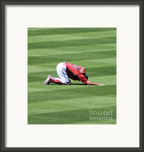 Spring Training 12-4-2 Framed Print By Pamela Walrath
