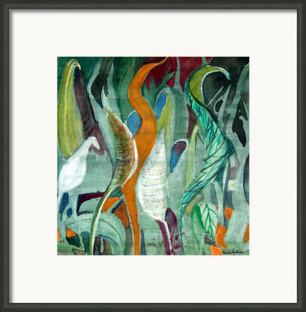 Sprout Framed Print By Mindy Newman