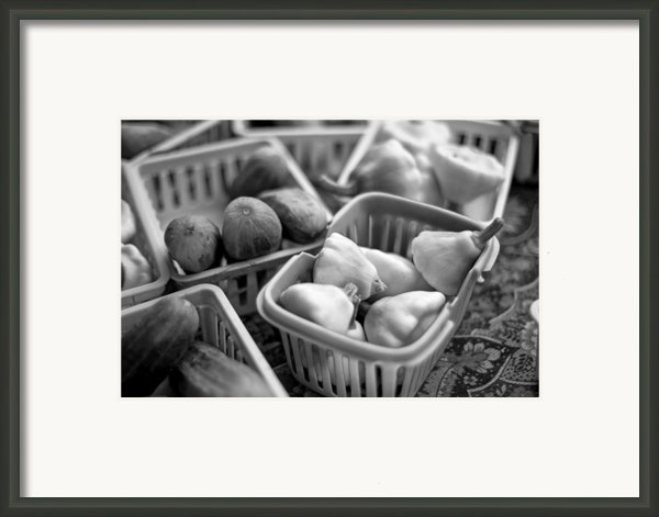 Squash And Cucumbers Framed Print By Scott Norris