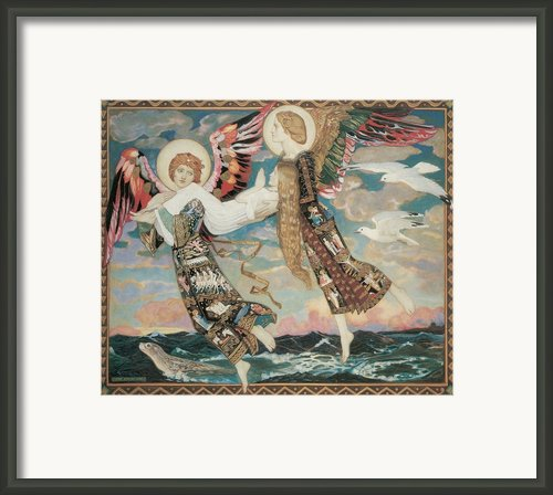 St. Bride Framed Print By John Duncan