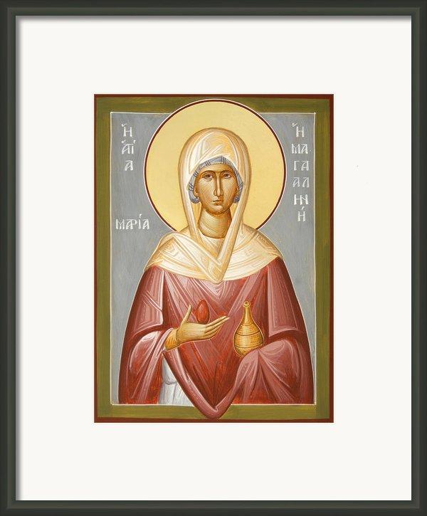 St Mary Magdalene Framed Print By Julia Bridget Hayes