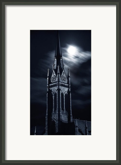 St Nicholas Church Wilkes Barre Pennsylvania Framed Print By Arthur Miller