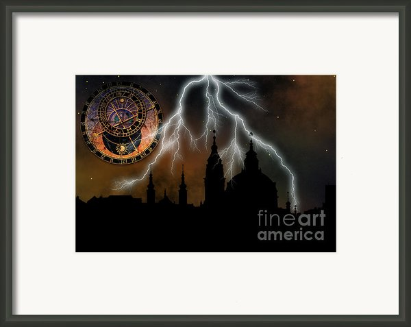 St Nikolas Church - Prague Framed Print By Michal Boubin
