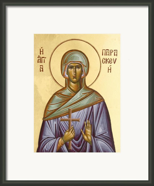 St Paraskevi Framed Print By Julia Bridget Hayes