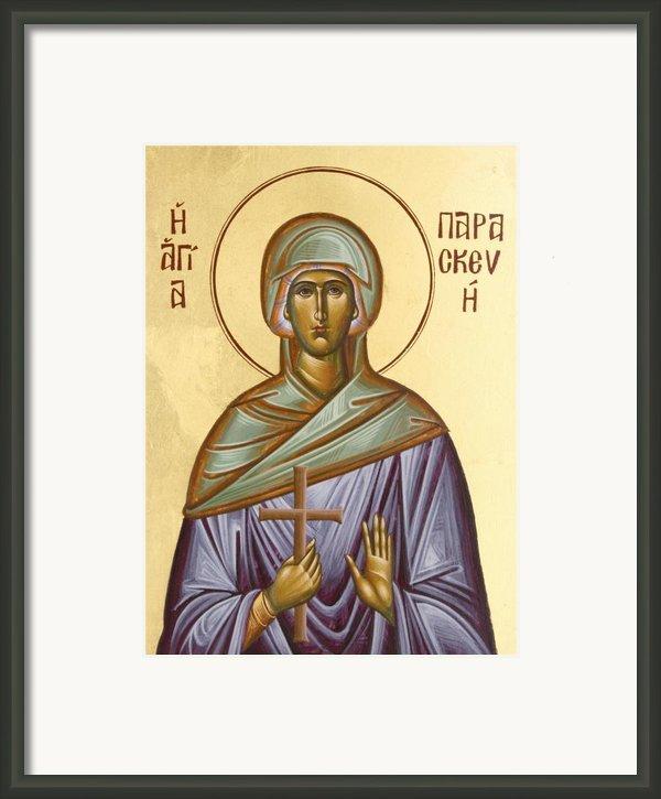 St Paraskevi Framed Print By Julia Bridget Hayes