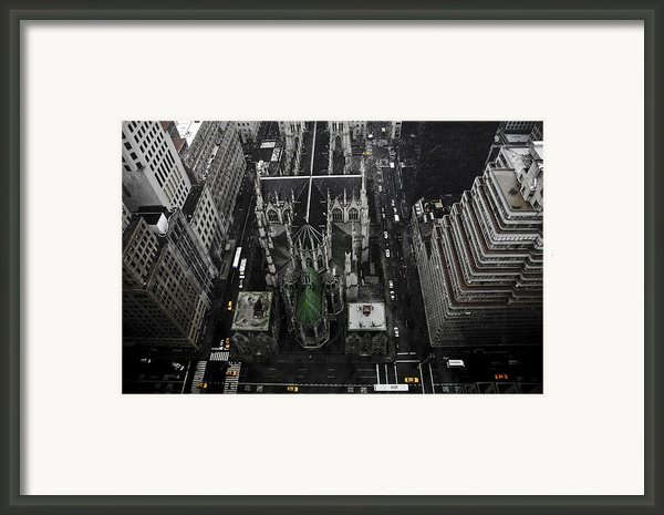 St. Patricks Cathedral Framed Print By Marcel Krasner