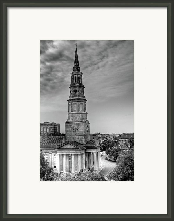 St. Phillips Episcopal Church Framed Print By Drew Castelhano