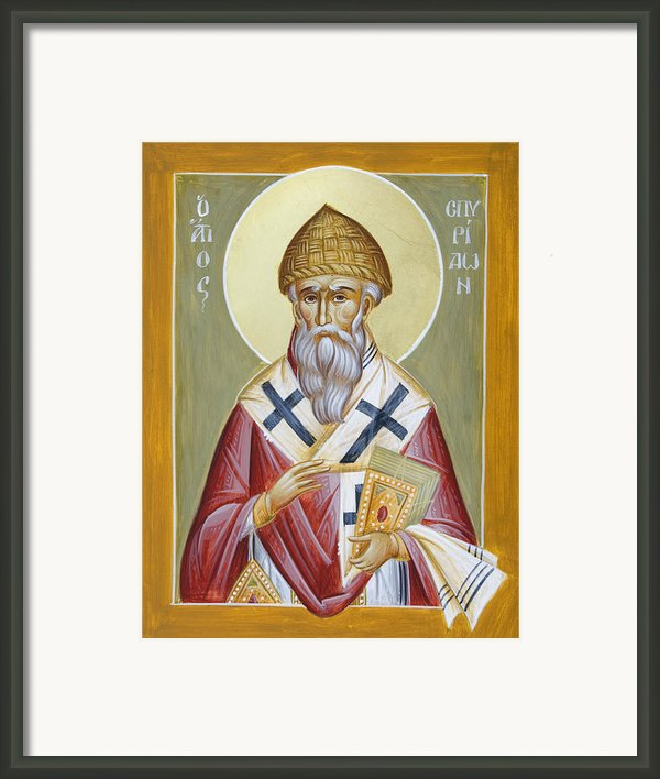 St Spyridon Framed Print By Julia Bridget Hayes