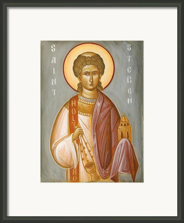 St Stephen Ii Framed Print By Julia Bridget Hayes