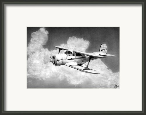 Staggerwing Framed Print By Lyle Brown