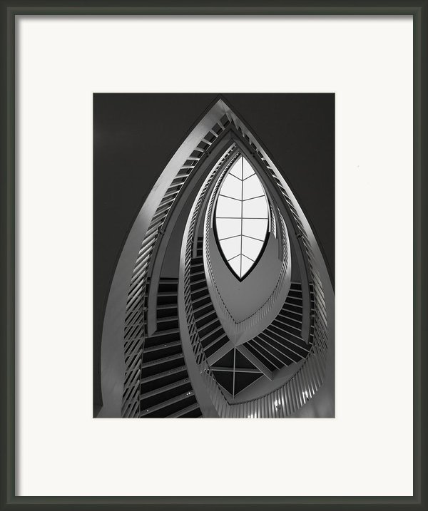 Stairs Framed Print By Anna Villarreal Garbis
