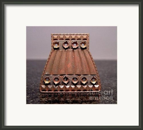 Stampings 9 Framed Print By Dwight Goss