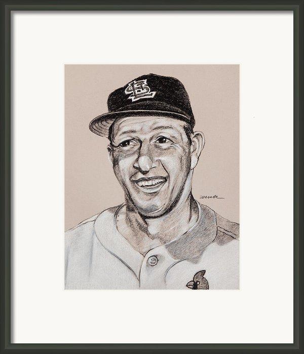 Stan The Man Framed Print By Jim Wetherington