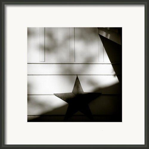 Star And Stripes Framed Print By David Bowman