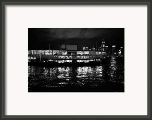 Star Ferry Tsim Sha Tsui Terminal Kowloon Hong Kong Hksar China Framed Print By Joe Fox