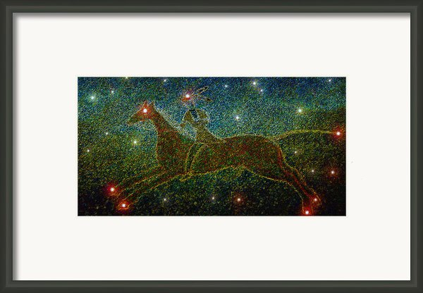 Star Rider Framed Print By David Lee Thompson