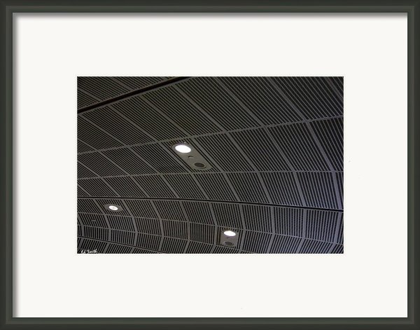 Star Ship Enterprise Framed Print By Ed Smith