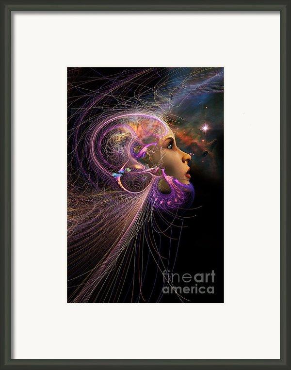 Starborn Framed Print By John Edwards