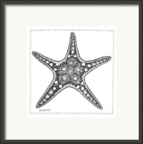 Starfish Framed Print By Stephanie Troxell
