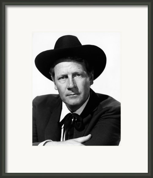 Stars In My Crown, Joel Mccrea, 1950 Framed Print By Everett