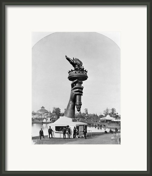Statue Of Liberty 1876 Framed Print By Granger