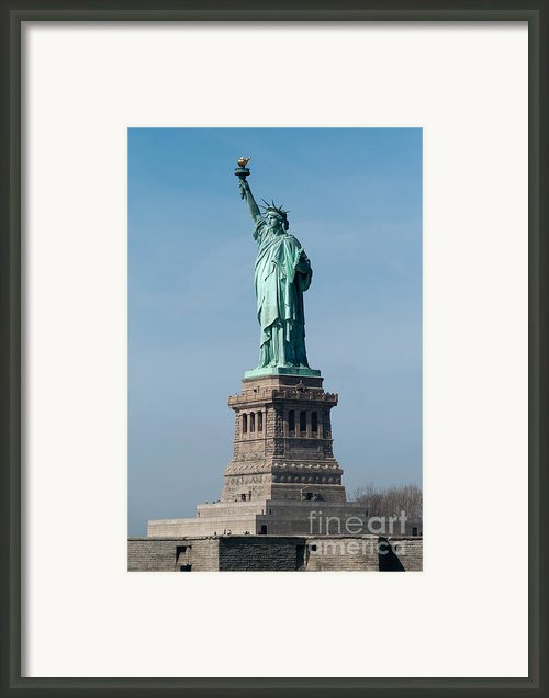 Statue Of Liberty I Framed Print By Clarence Holmes
