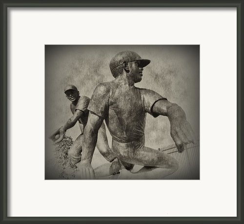 Stealing Third Framed Print By Bill Cannon