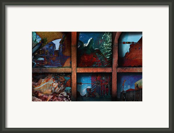 Steam Shovel Framed Print By Janet Kearns