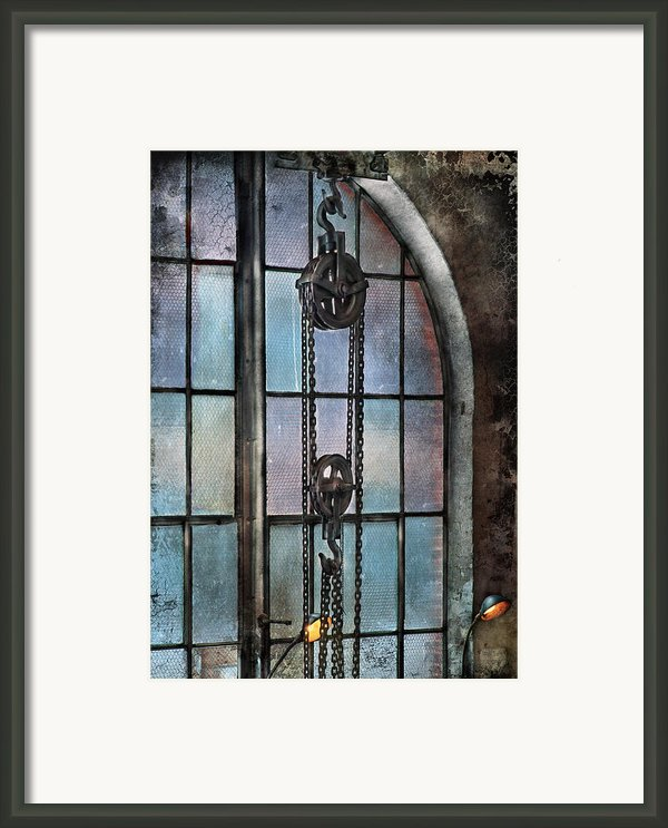 Steampunk - Gear - Importance Of Industry  Framed Print By Mike Savad