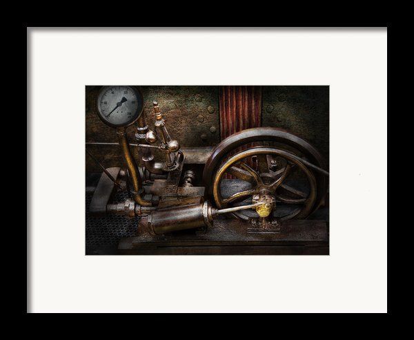 Steampunk - The Contraption Framed Print By Mike Savad