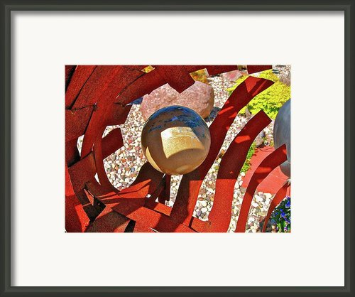 Steel And Shadows Framed Print By Randy Rosenberger