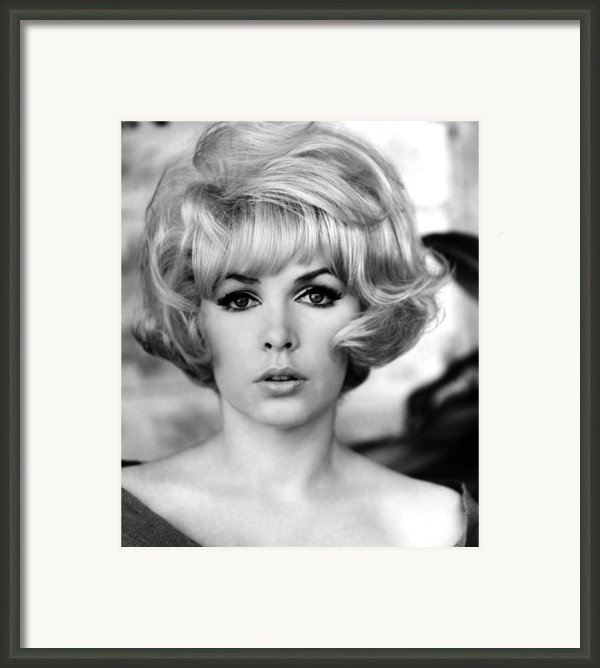 Stella Stevens, 1967 Framed Print By Everett