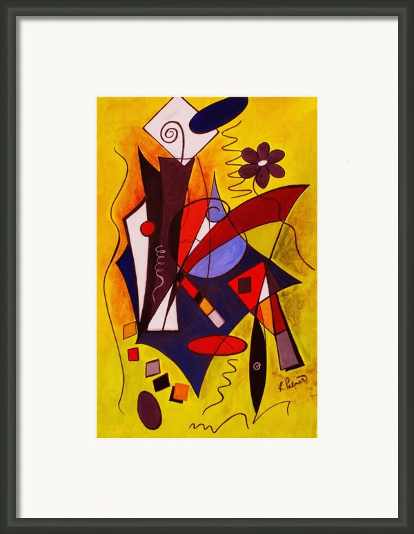 Step Lively Now Framed Print By Ruth Palmer