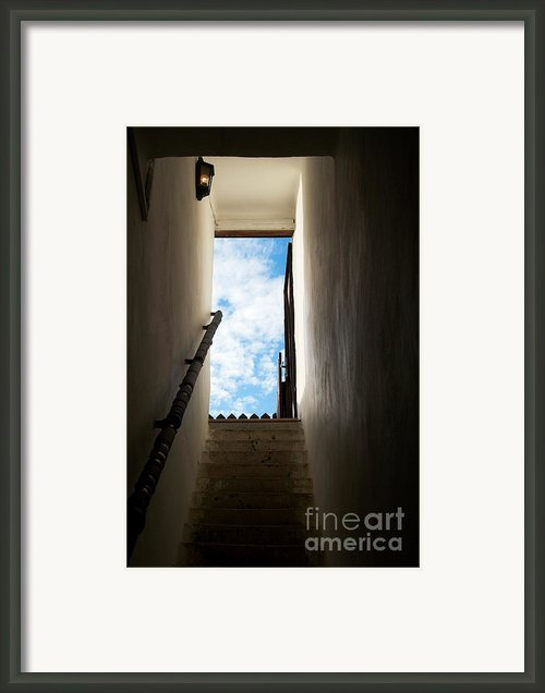 Step Framed Print By Odon Czintos